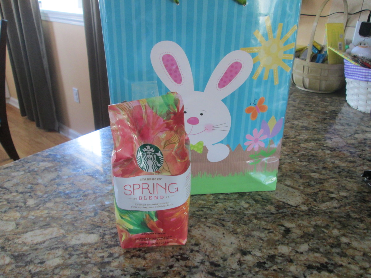 Starbucks Spring Blend Review & Giveaway