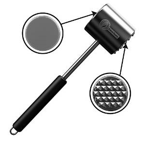 Review & Giveaway: Meat Tenderizer Mallet