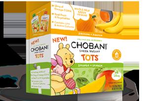 Chobani Tots