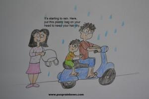 family motorbike