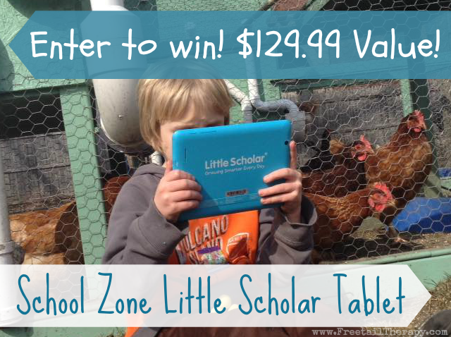 School Zone Little Scholar Tablet Giveaway
